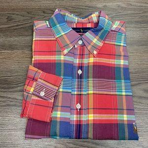 Polo Ralph Lauren Red Plaid Oxford Shirt 2XLT